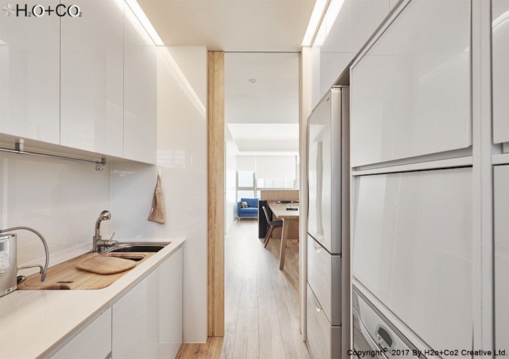 廚房 根據 光合作用設計有限公司 簡約風