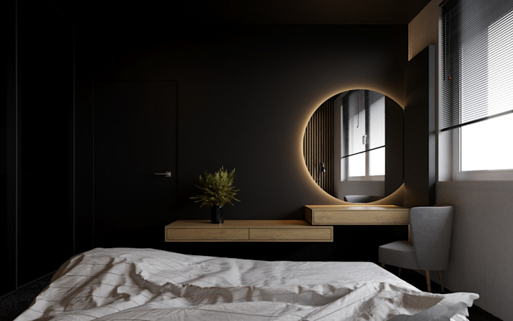 Ale design Grzegorz Grzywacz Modern Bedroom