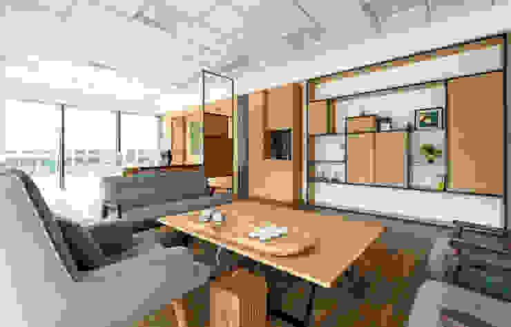 辦公室的理性與感性 根據 奧兒設計 現代風