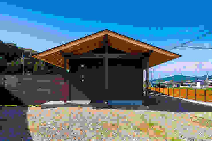 御嵩の平屋 梶浦博昭環境建築設計事務所 日本家屋・アジアの家