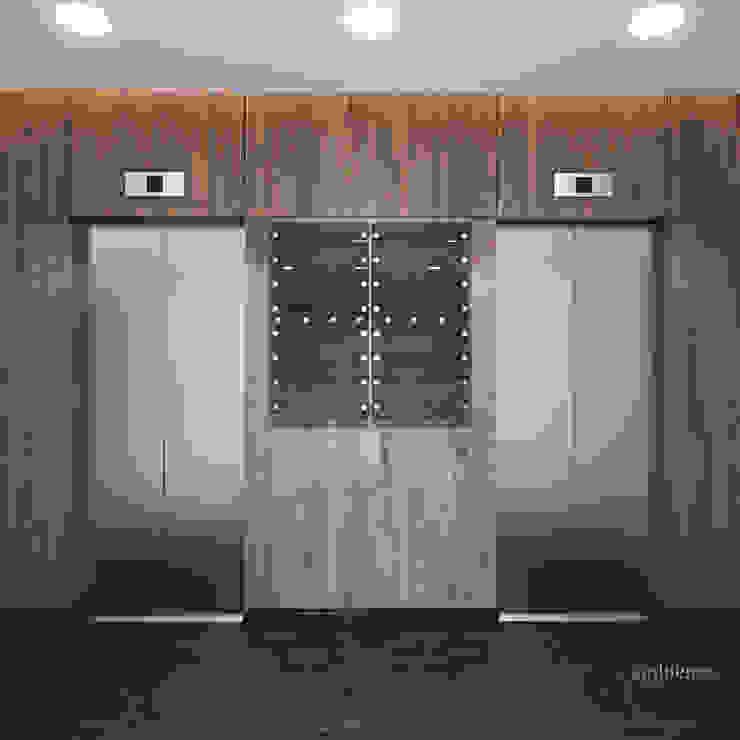 Wyjątkowe lobby biurowca od Ambience. Interior Design Nowoczesny