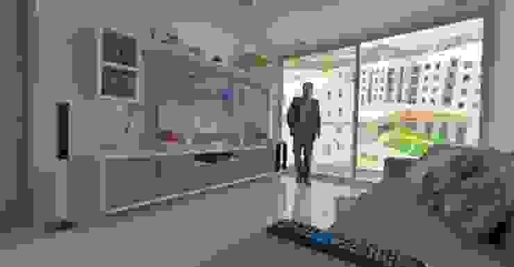 Mueble de Tv de ESCUADRA MOBILIARIO Y ARQUITECTURA