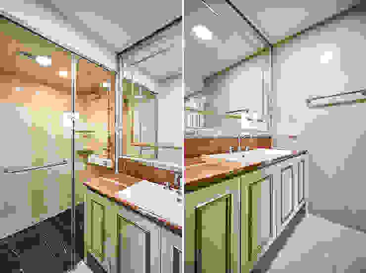 욕실 모던스타일 욕실 by 곤디자인 (GON Design) 모던