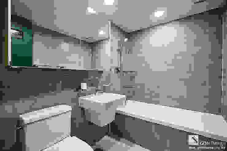 마곡푸르지오 41py 모던스타일 욕실 by 곤디자인 (GON Design) 모던