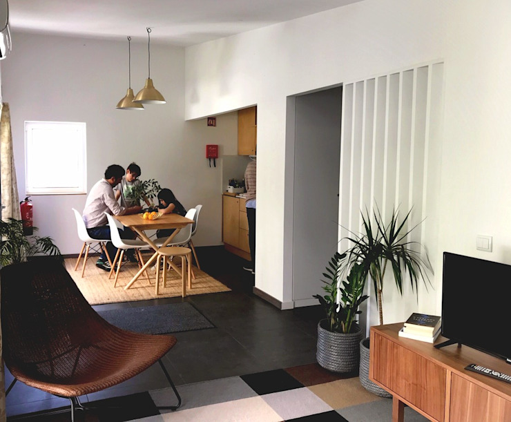 HUMA arquitetura Salones modernos