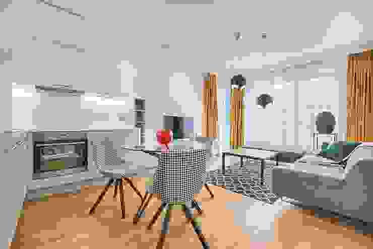 Tendencias 2020 en Arquitectura y diseño de interiores Livings modernos: Ideas, imágenes y decoración de REZ Arquitectura | Diseño | Construcción Moderno
