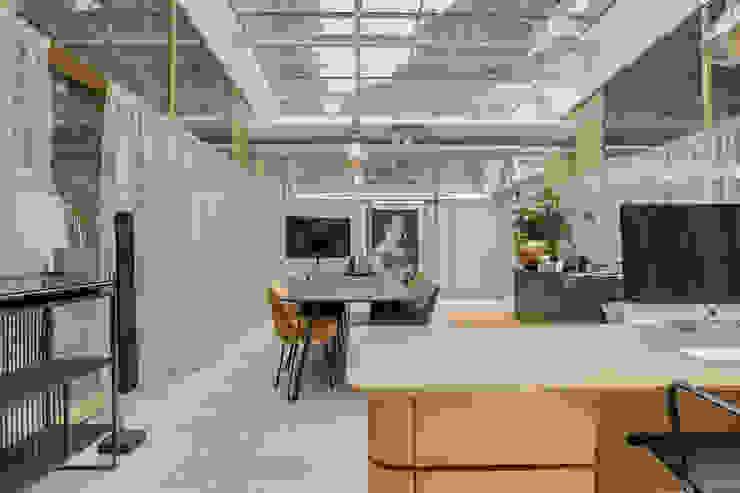 werk en flexruimte RHAW architecture Industriële kantoorgebouwen