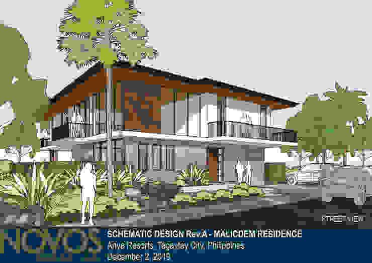 STREET VIEW by NOVOS DESIGN LAB Tropical Concrete