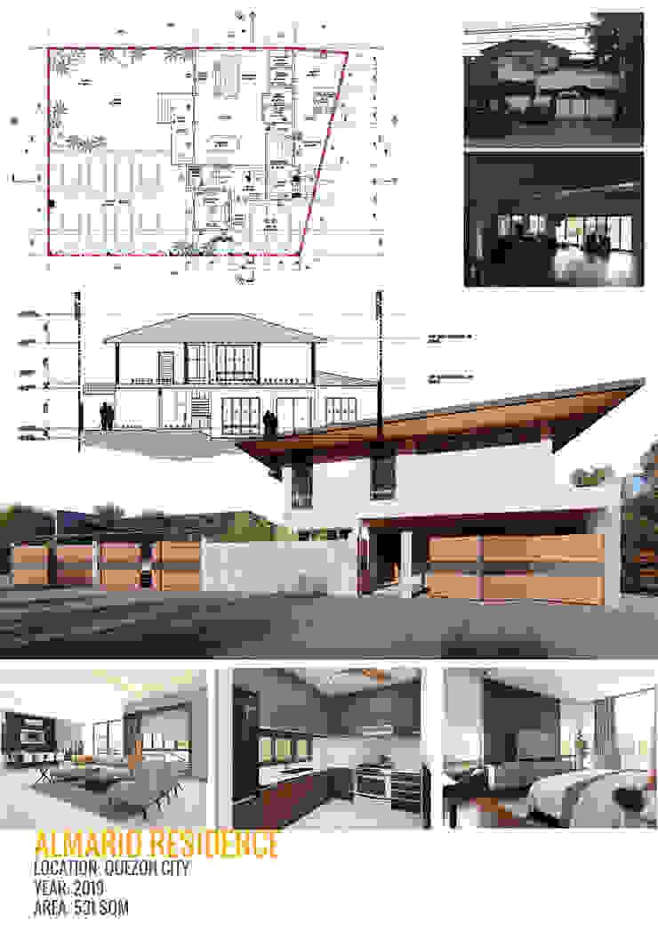 ALMARIO RESIDENCE by NOVOS DESIGN LAB Modern