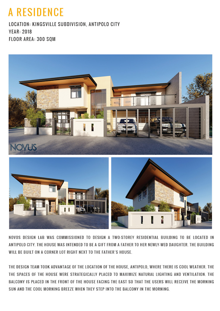 A RESIDENCE by NOVOS DESIGN LAB Modern