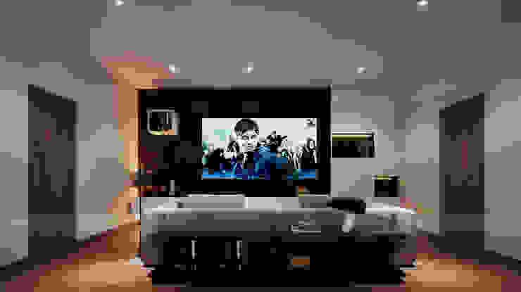 VILLA DIAMOND Phòng giải trí phong cách hiện đại bởi RIKATA DESIGN Hiện đại