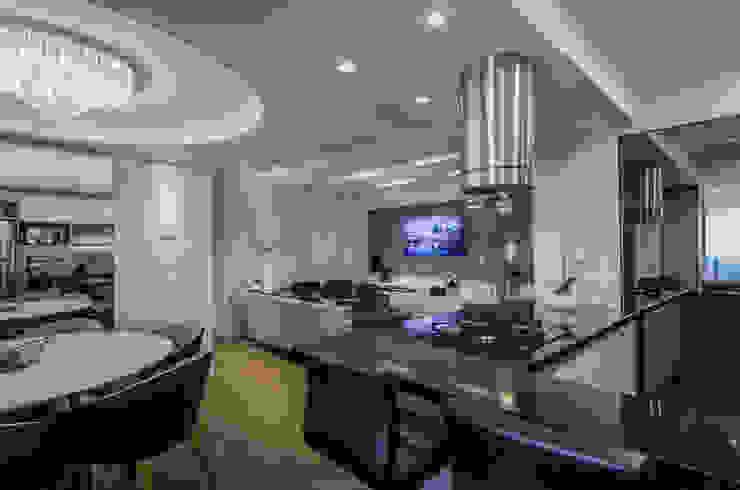 Estar Cláudia Macedo arquitetura de interiores Salas de estar modernas