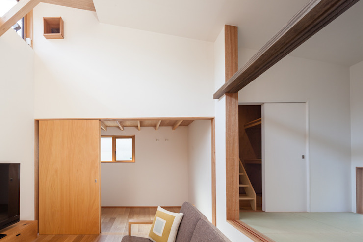 HAN環境・建築設計事務所 Modern living room