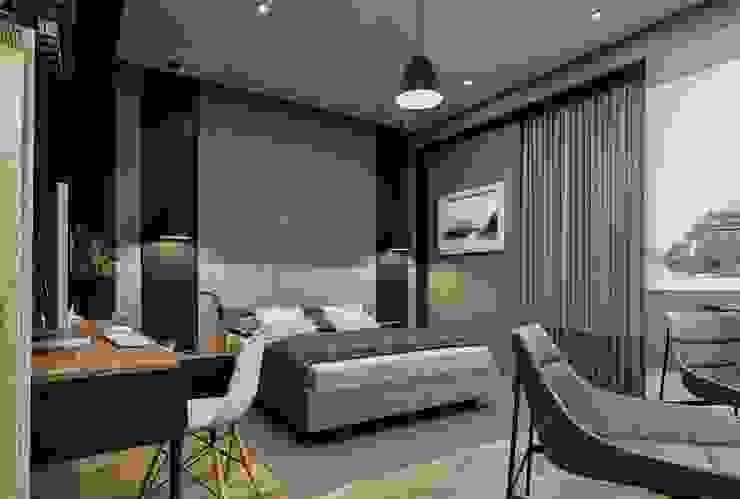 Baştan Villası Modern Yatak Odası VERO CONCEPT MİMARLIK Modern