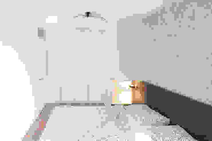 Kleine slaapkamer met hoekkast van De Suite Modern