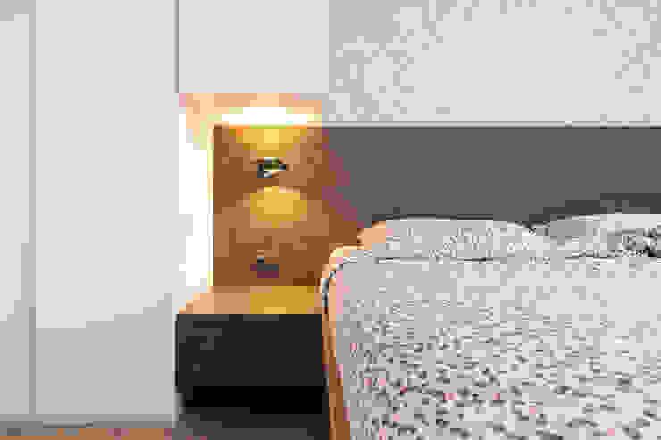 Detail kast boven bed van De Suite Modern