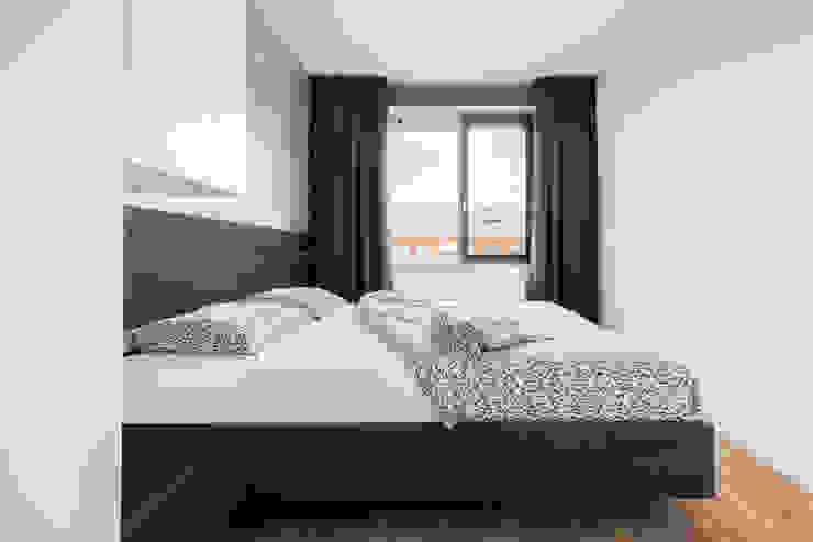 Houten bed op maat van De Suite Modern