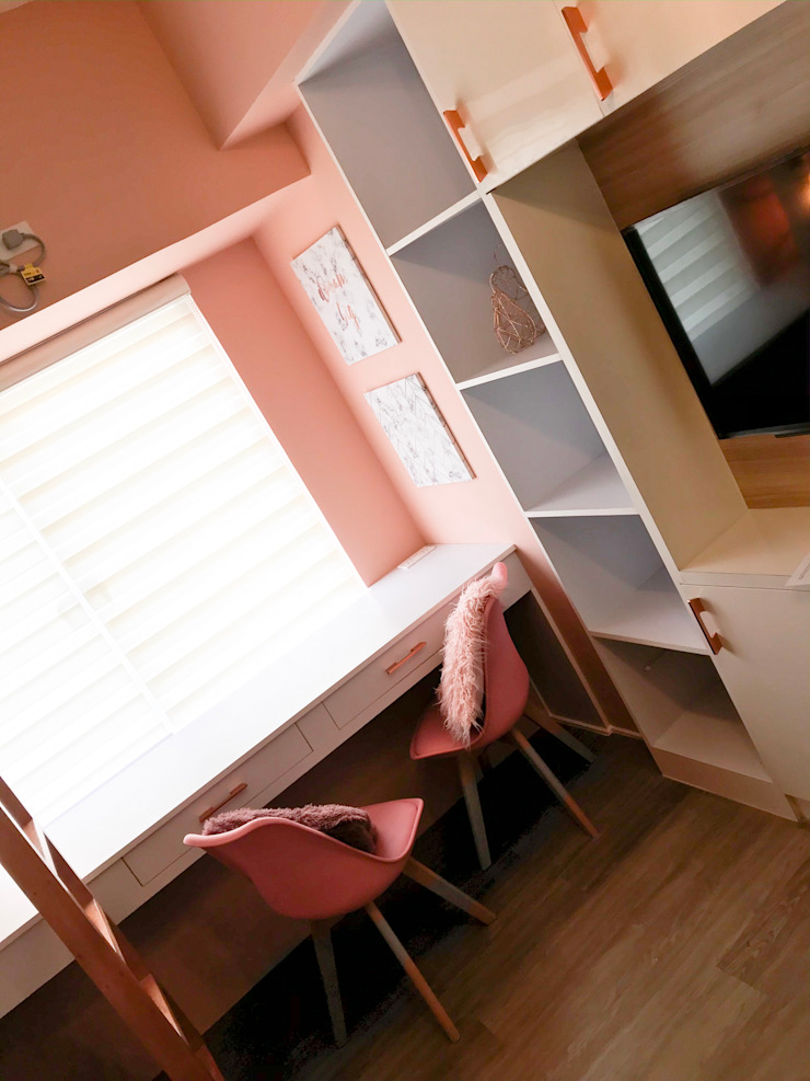 The Pink Dorm by CIANO DESIGN CONCEPTS Scandinavian