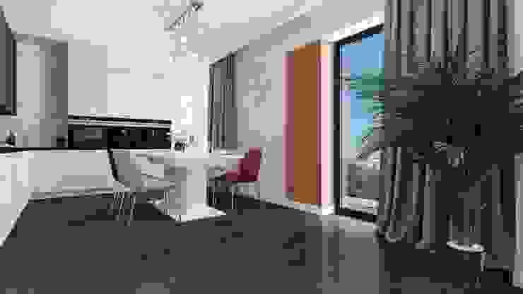 Modern Dining Room by Biuro projektowe Patio Modern