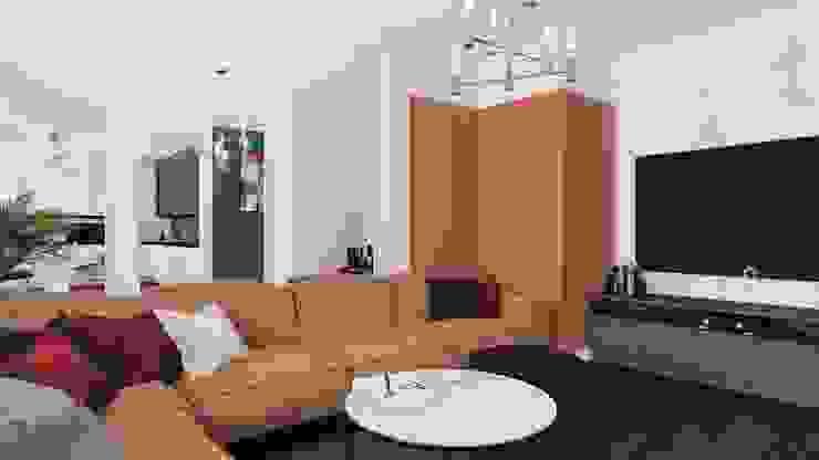 Modern Living Room by Biuro projektowe Patio Modern