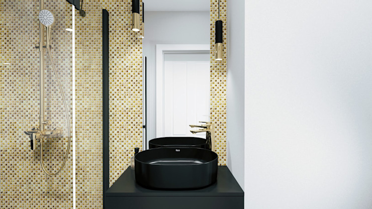 Modern Bathroom by Biuro projektowe Patio Modern