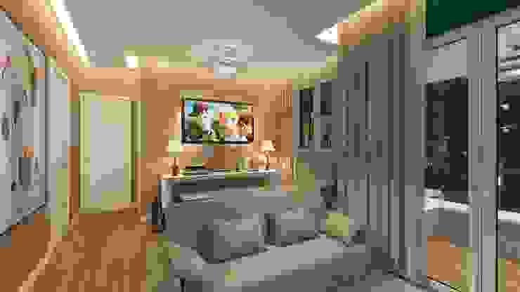 Modern living room by Paulo Rodrigues Decoração & Design Modern