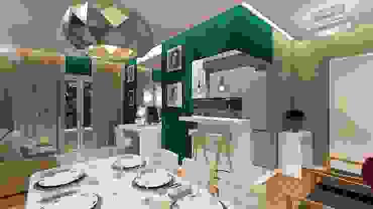Modern dining room by Paulo Rodrigues Decoração & Design Modern