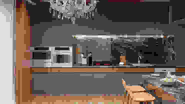 Esboçosigma, Lda Modern style kitchen