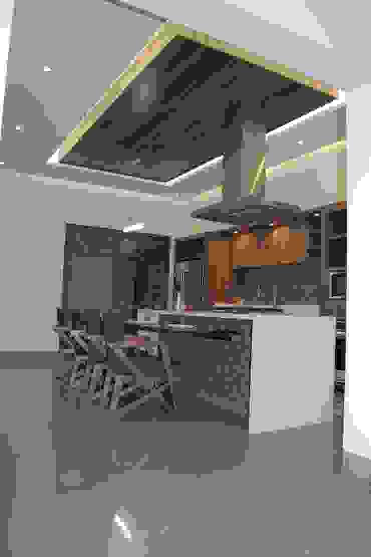 COCINA Cocinas modernas de arketipo-taller de arquitectura Moderno