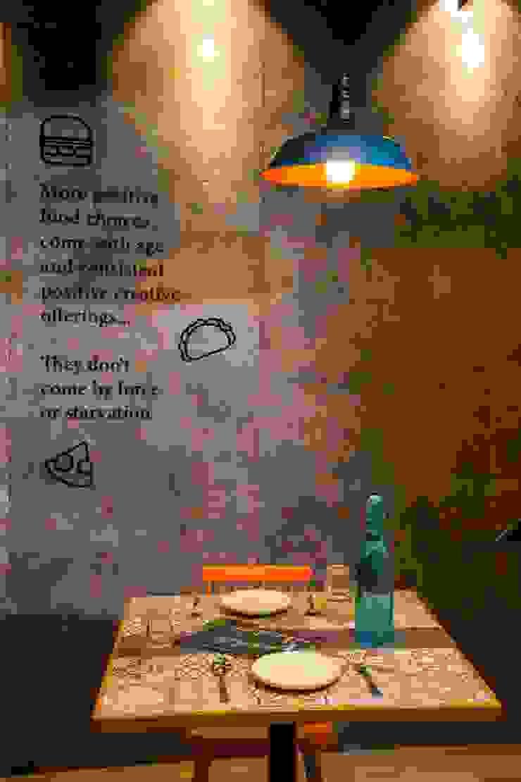 Offcentered Architects Sala da pranzo moderna