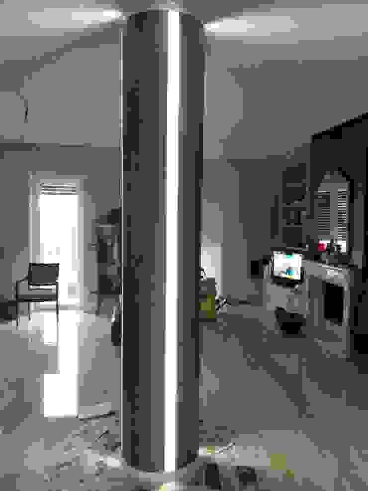 Arte Design & Colore Moderne Wohnzimmer Metallic/Silber