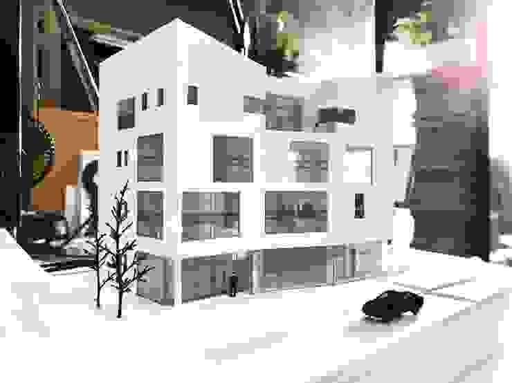 밀양 삼랑진 상가주택 'FELICITAS' by 디자인랩 수 건축사사무소