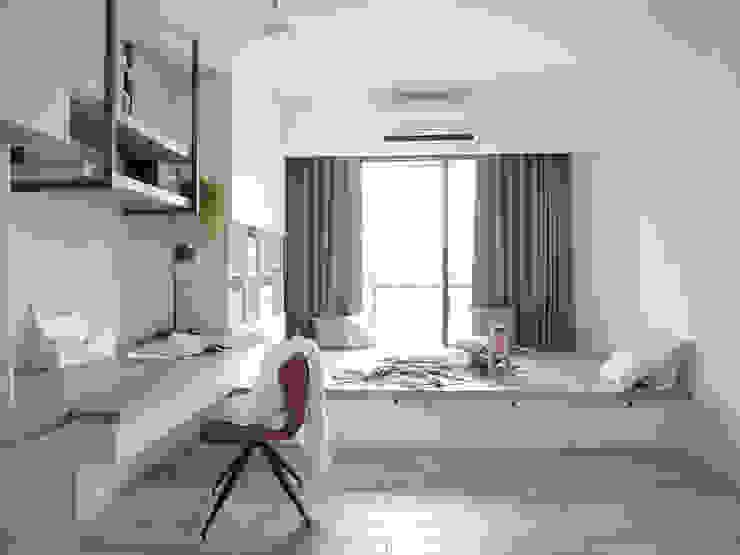 漢玥室內設計 Studio in stile scandinavo Effetto legno