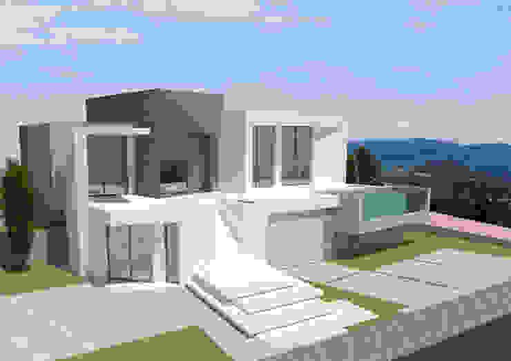 Barreres del Mundo Architects. Arquitectos e interioristas en Valencia. Single family home Ceramic White