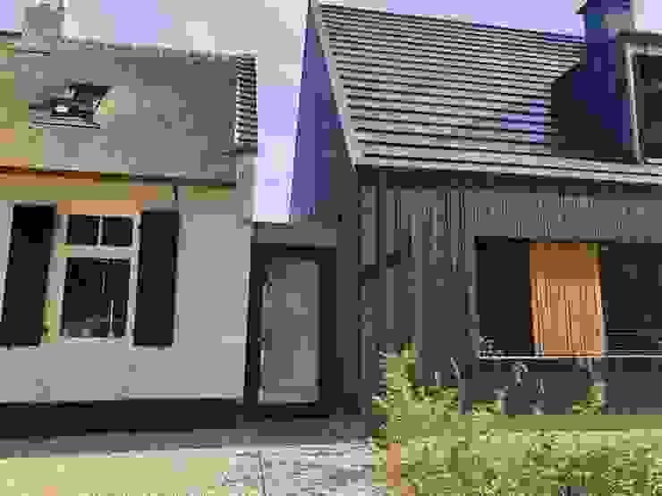 Moderne nieuwbouw woning van Hoogsteder architecten Modern Hout Hout