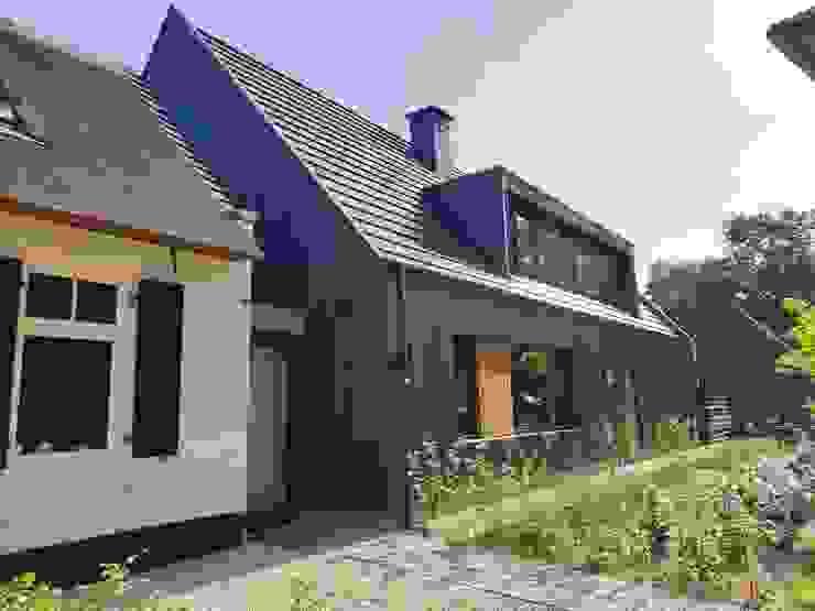 Moderne nieuwbouw woning: modern  door Hoogsteder architecten, Modern