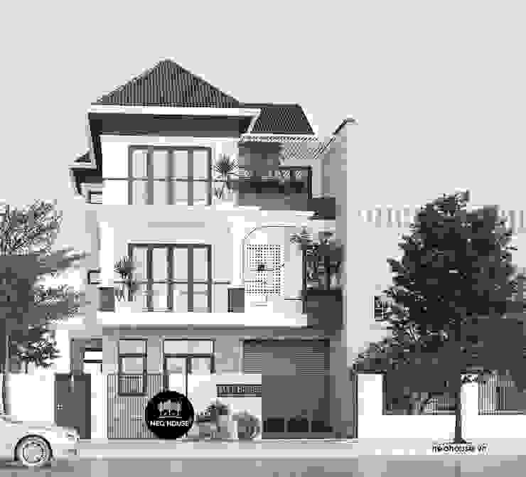 Mẫu biệt thự phố 3 tầng hiện đại sang trọng tại TP. Hồ Chí Minh NEOHouse