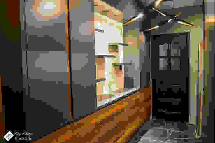 NEG ATÖLYE İÇ MİMARLIK – Çift Taraflı Mutfak Dolapları: modern tarz , Modern Ahşap Ahşap rengi