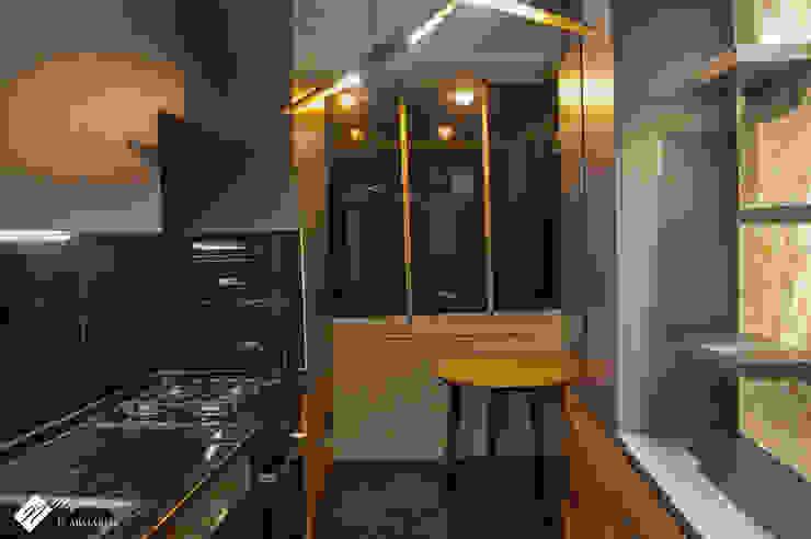NEG ATÖLYE İÇ MİMARLIK – Mutfak Büyütme: modern tarz , Modern Granit