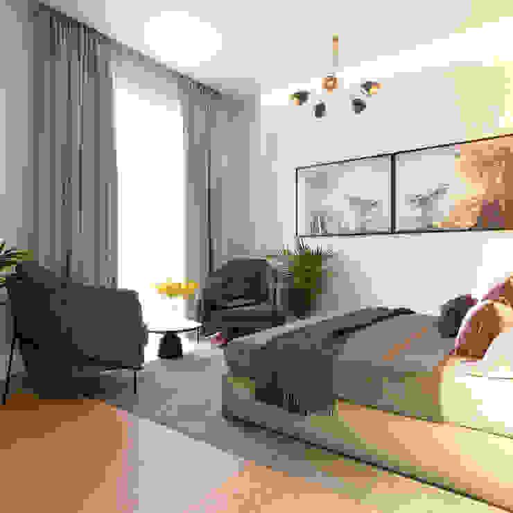ArchSia – yatak odası: modern tarz , Modern