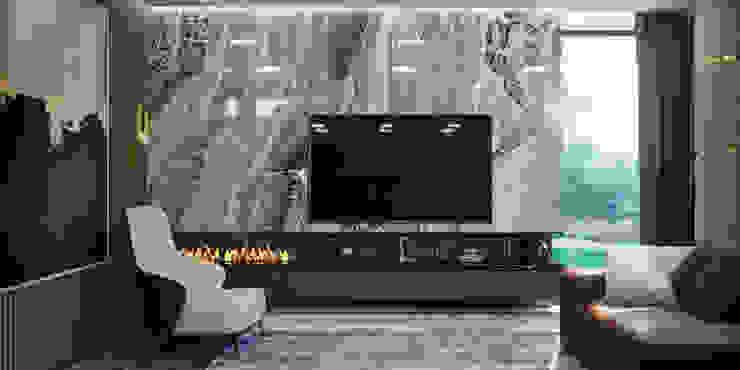 VITTAGROUP Living room Marble Blue