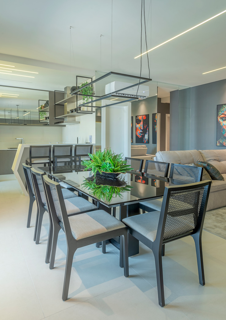 Studio Diego Duracenski Interiores Modern dining room