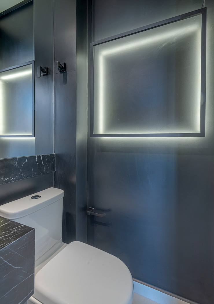 Studio Diego Duracenski Interiores Modern bathroom