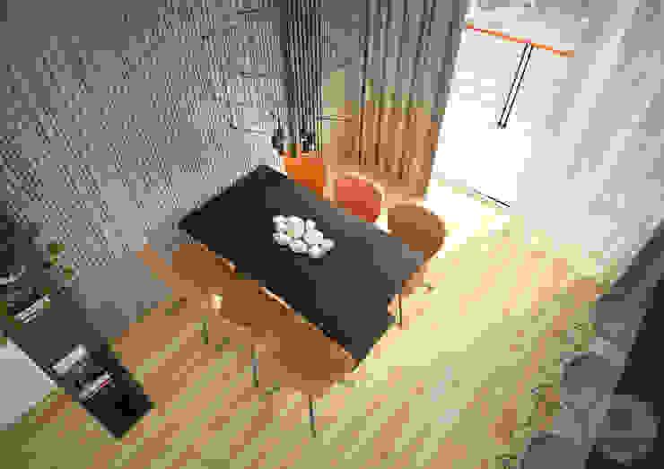 Nevi Studio Sala da pranzo moderna Trasparente