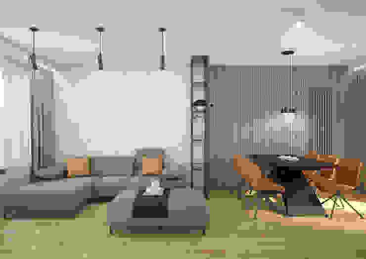 Nevi Studio Soggiorno moderno Grigio