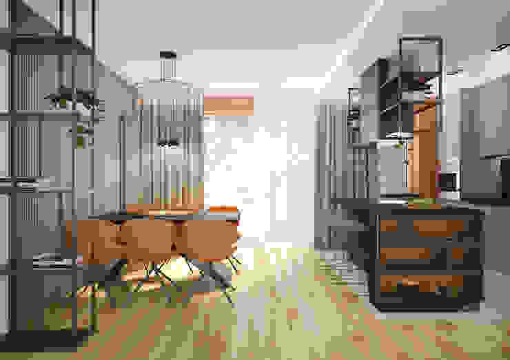 Nevi Studio Cucinino Arancio