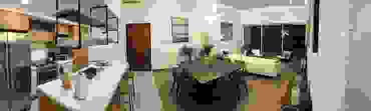 Panoramic photo Modern Dining Room by DE LEON PRO Modern