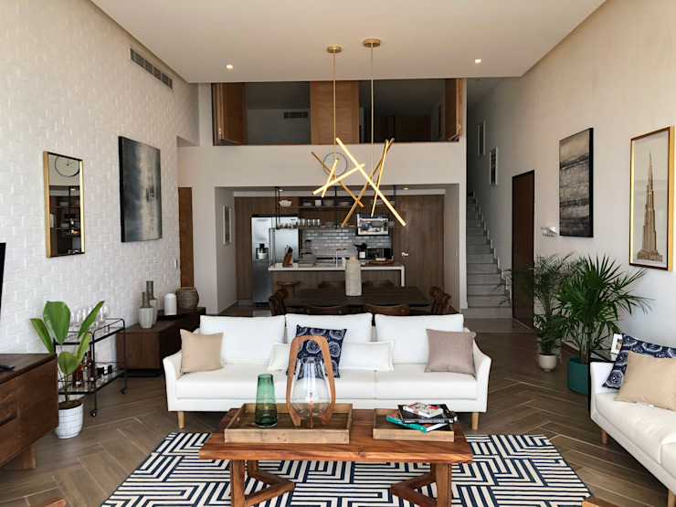 Double Height Living Room DE LEON PRO Modern Living Room