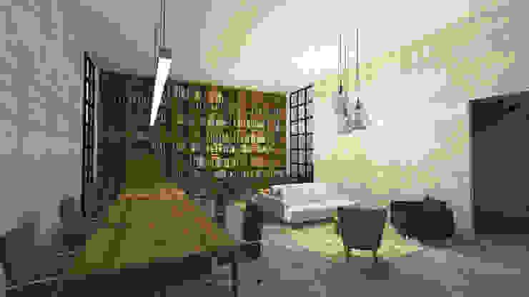 DE LEON PRO Ruang Studi/Kantor Modern