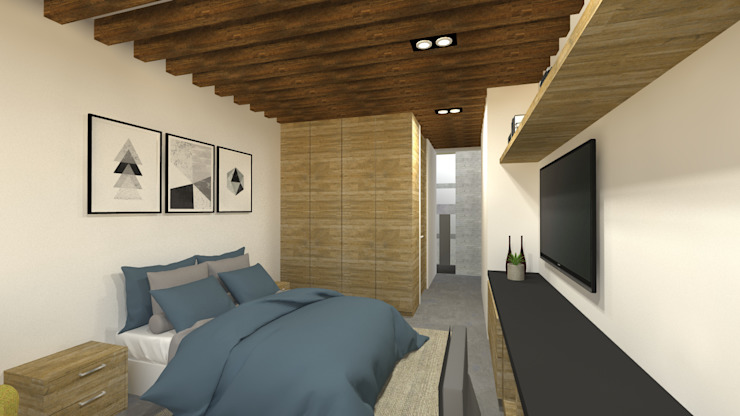 DE LEON PRO Kamar Tidur Modern